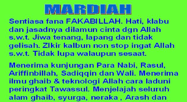 MARDIAH